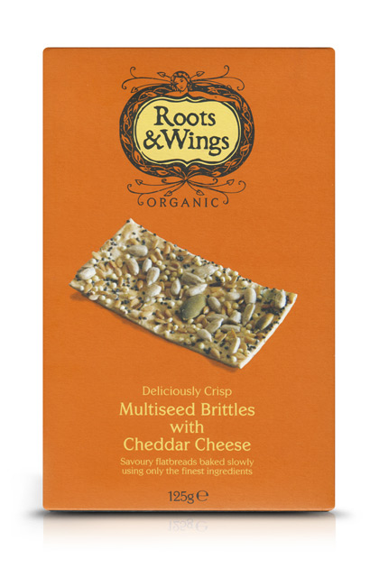 Multiseed Brittles with Cheddar Cheese
